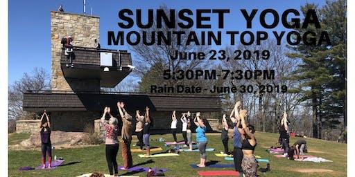 Sunset Yoga - Mountain Top Yoga