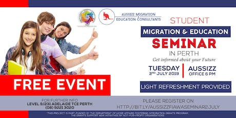 FREE MIGRATION & EDUCATION SEMINAR tickets