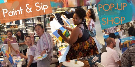 Paint and Sip Brunch at West Elm tickets