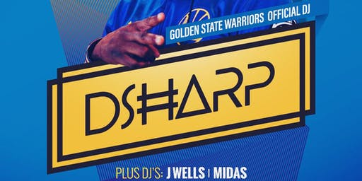 CULTURE INDUSTRY HIPHOP SUNDAYS - GOLDEN STATE WARRIORS DJ D SHARP @ AVERY LOUNGE!