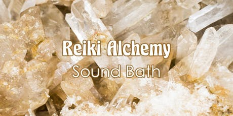 Reiki and Crystalline Alchemy Sound Bath tickets