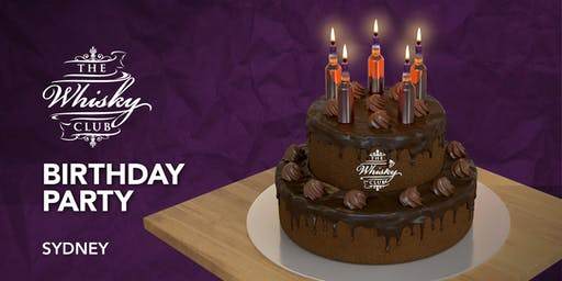 The Whisky Club Birthday Party – Sydney