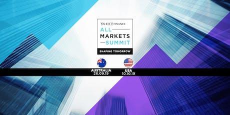 Yahoo Finance All Markets Summit tickets