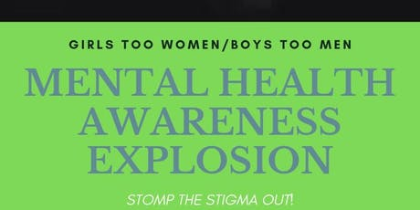 Mental Health Rally Explosion tickets