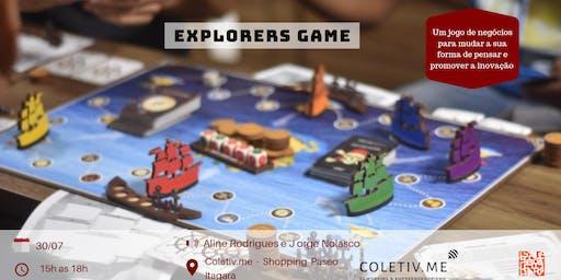 Quebrando paradigmas com Explorers Game