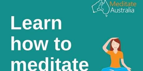 Meditate Australia Tour comes to the National Press Club -Canberra tickets