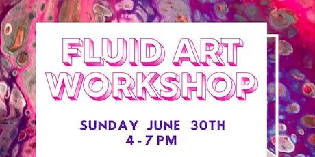 Fluid Art Workshop tickets