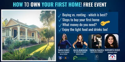How to Own your First Home. Free Event.