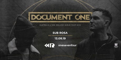 Document One [UK] // Brisbane tickets