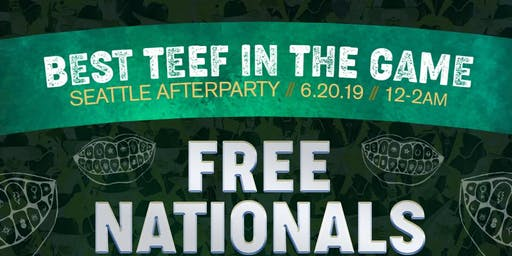 Best Teef In The Game Afterparty: FREE NATIONALS feat. Maurice 'MoBetta' Brown + Very Special Surprise Guests