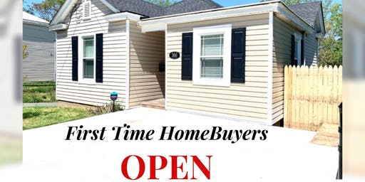 First Time Home Buyers OPEN House! :)