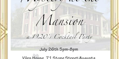Mystery at the Mansion tickets