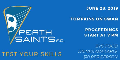 Perth Saints FC Quiz Night