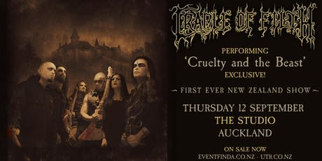 Cradle of Filth Exclusive NZ Show tickets