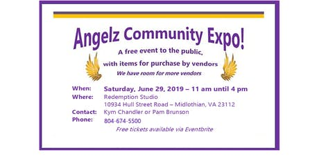 Angelz Community Expo  (Free entry to the Public) tickets