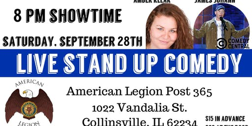 LIVE Stand Up Comedy at the Collinsville American Legion