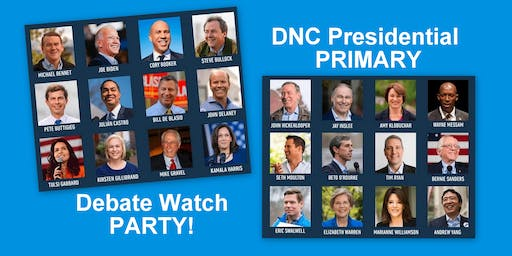 DNC Presidential Debate Watch Party: Brooklyn Blowout!