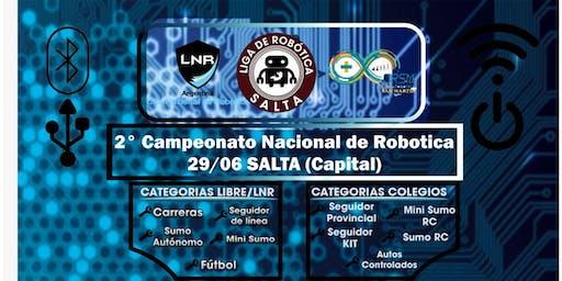 2° Campeonato Robótica