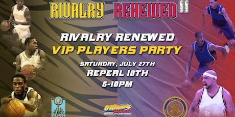 RIVALRY RENEWED VIP tickets