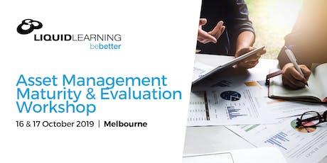 Asset Management Maturity & Evaluation Workshop tickets