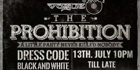 The prohibition tickets