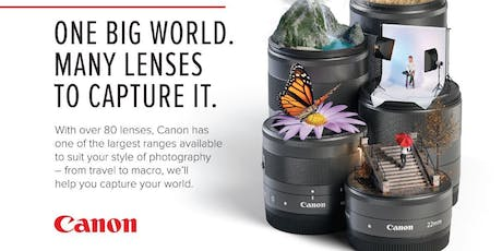 Canon – Lens Challenge Day June 26th  tickets