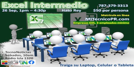 Excel Intermedio con TecnoNoticias tickets