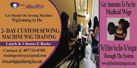 Premier Intense Sewing Machine Wig Seminar tickets