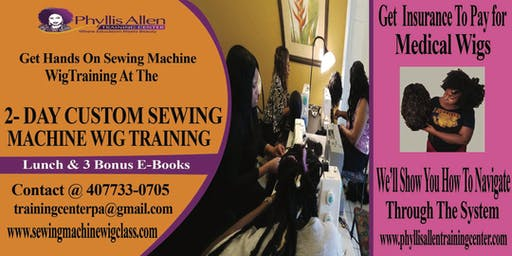 Premier Intense Sewing Machine Wig Seminar