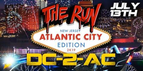 """THE RUN """" NEW JERSEY ATLANTIC CITY EDITION """" entradas"""