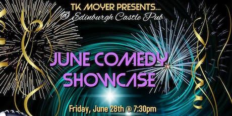 June Comedy Showcase 2019 tickets