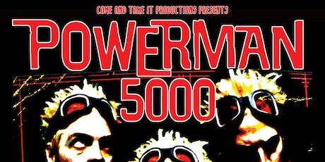 POWERMAN 5000: 'Tonight the Stars Revolt' 20th Anniversary tickets