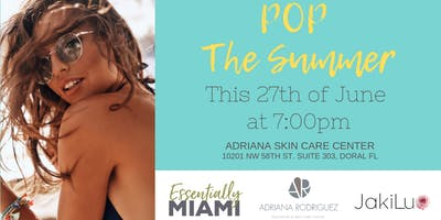 POP THE SUMMER Bazaar
