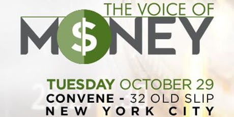 The Voice of Money tickets