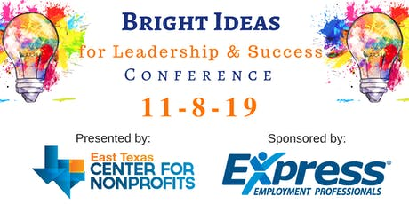 Bright Ideas for Leadership & Success 2019 tickets