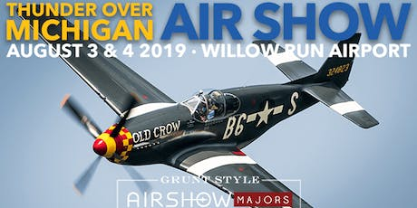 Thunder Over Michigan Battle 2019 Re-enactor and Vehicle Owner Registration tickets