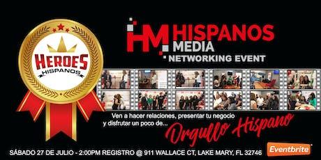 Hispanos Media Networking Event Lake Mary tickets