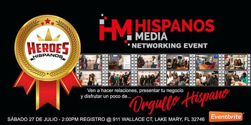 Hispanos Media Networking Event Lake Mary