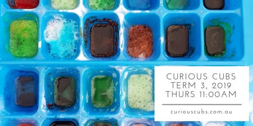 Curious Cubs Term 3, 2019 - Thurs 11:00am (10 weeks)