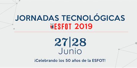 Jornadas Tecnológicas ESFOT 2019 entradas