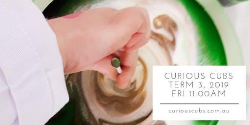Curious Cubs Term 3, 2019 - Fri 11:00am (10 weeks)