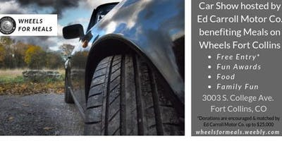 34th Annual Wheels for Meals Car Show & Fundraiser