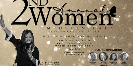 2nd Annual Women Symposium Gala 2019  tickets