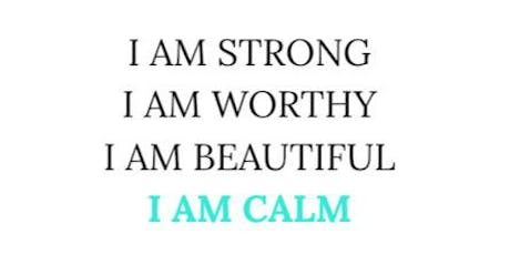 I AM CALM tickets