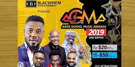ARISE GOSPEL MUSIC AWARDS (AGMA2019) tickets