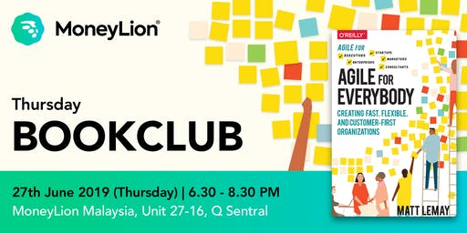 MoneyLion BookClub: Agile for Everybody
