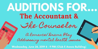 Auditions for Theatrical Play - Wednesday, June 26, 2019