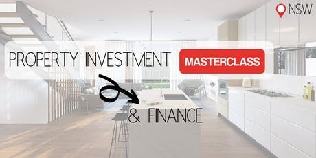 NSW | Property Investment & Finance Masterclass tickets