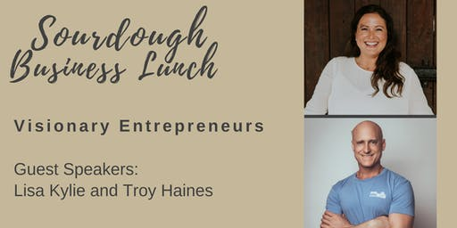 Sourdough Business Lunch - Speaker Series - 26th July
