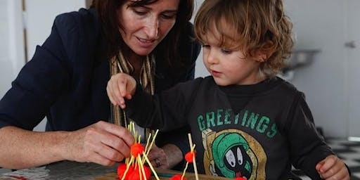 Toddler Art (Mini Strength Heroes) - 8 week program 11am -12